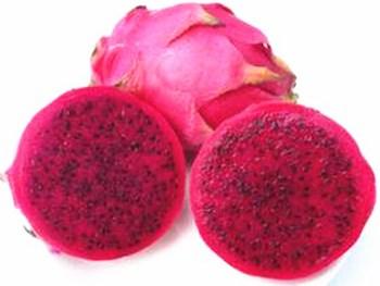 乐东红心火龙果:果型大、甜度高、产量高